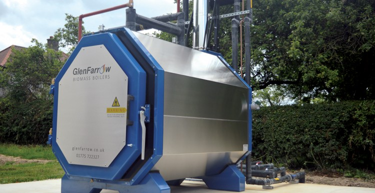 GlenFarrow 295 Batch Fed Biomass Boilers In place