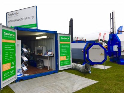 Display Unit at the Midlands Machinery Show