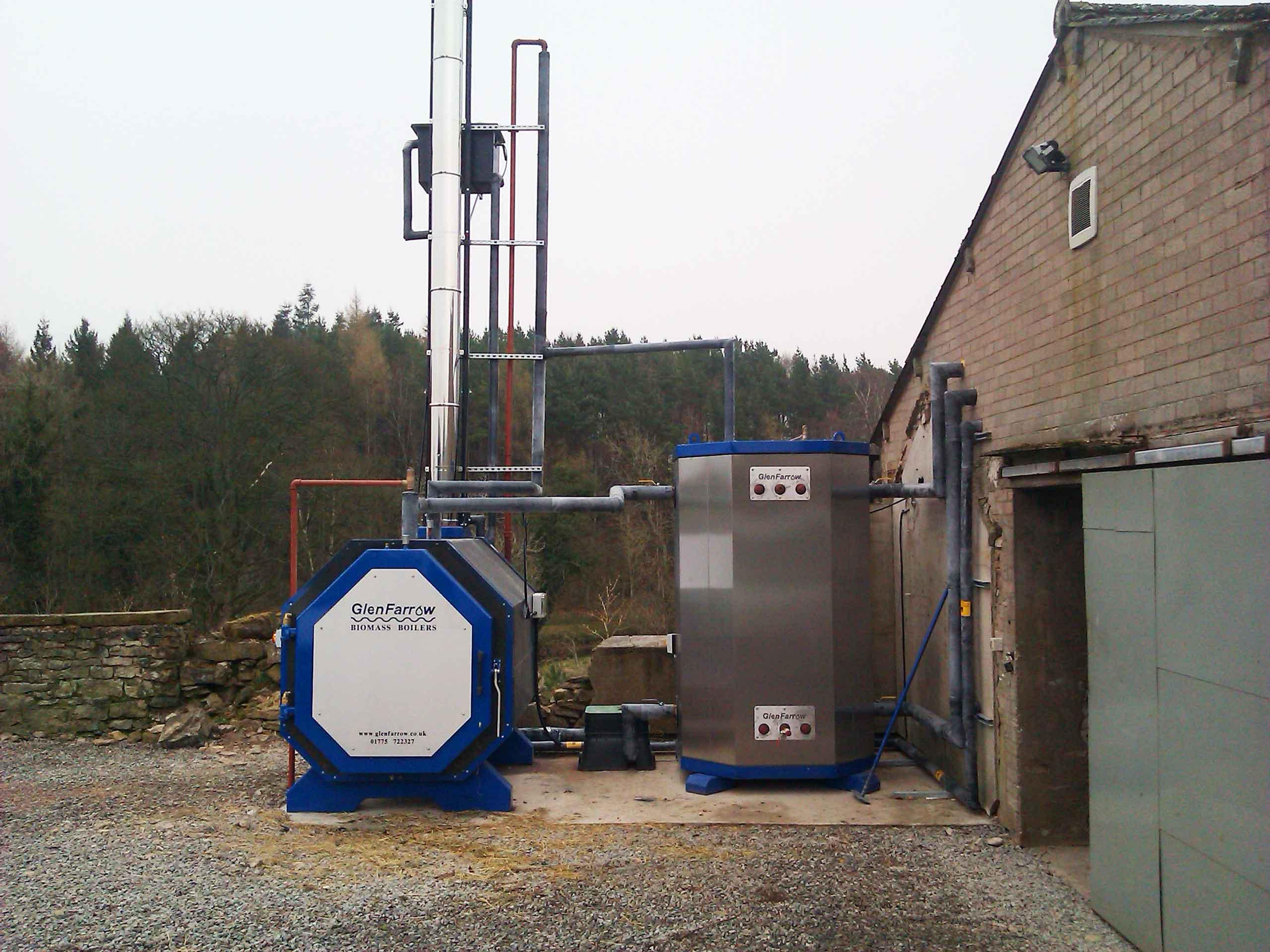 GlenFarrow's latest RHI accredited boiler installation