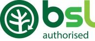 bsl logo green authorised